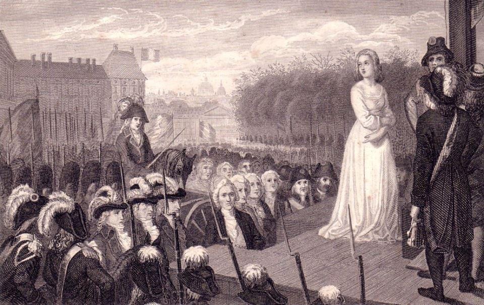 16 octobre 1793 calvaire de la reine Marie-Antoinette