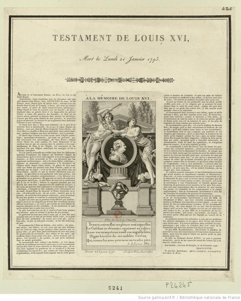 21 Janvier 1793 Testament-de-Louis-XVI-2