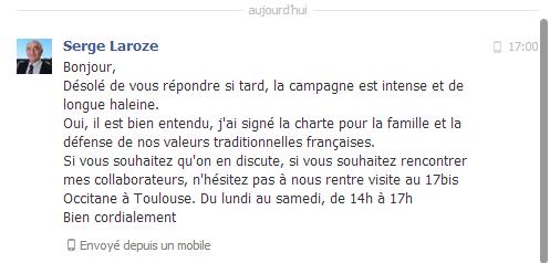 Charte des municipales - Serge Laroze