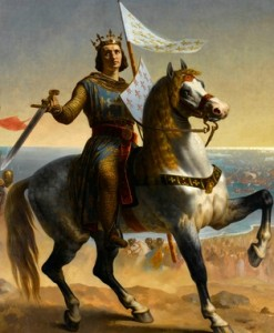 Emile Signol, Louis IX, dit Saint Louis, Roi de France (1215-1270)