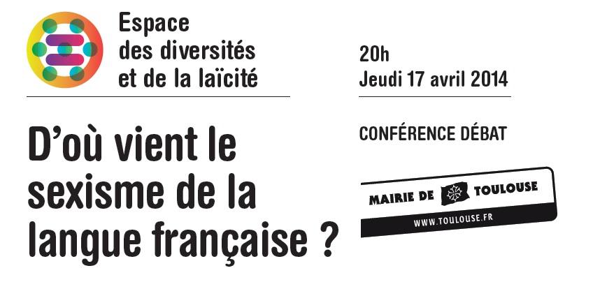 Mission égalité - Rencontres de la  diversité  - Sexisme langue francaise