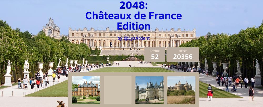2048 chateaux de france
