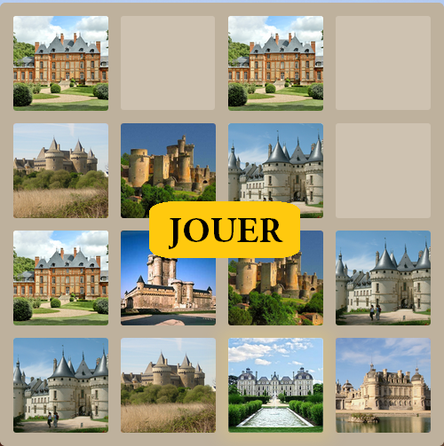 2048 jeux Château de France edition