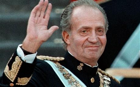 Roi Juan Carlos Ier d'Espagne