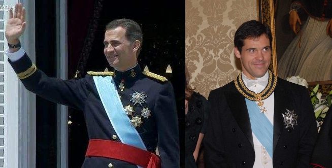 Louis XX et Felipe VI
