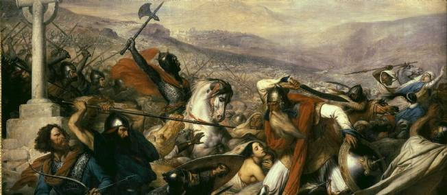 charles martel poitiers toulouse eudes aquitaine