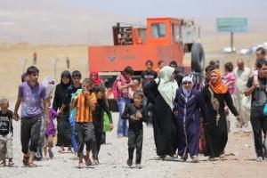 Fuite Mossoul Irak