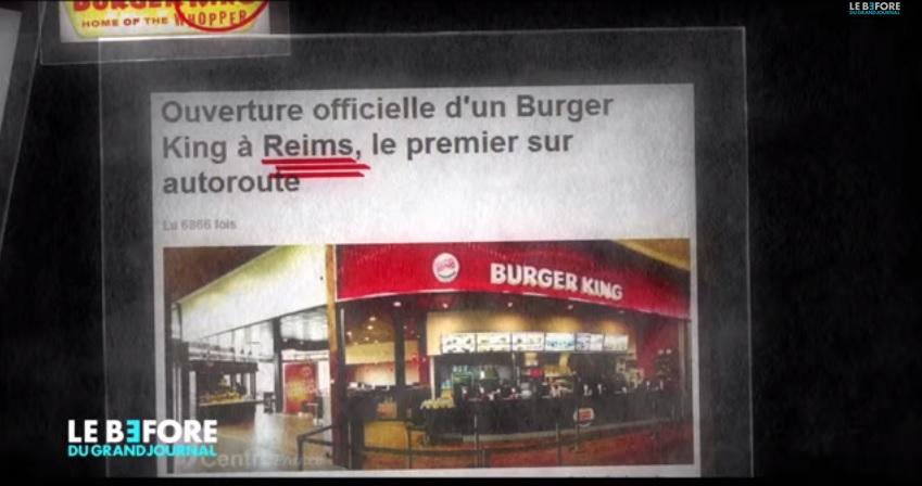 Les fast-food - le complot royaliste