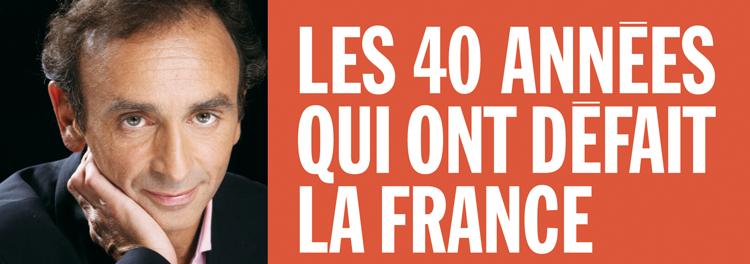 le suicide français livre eric zemmour