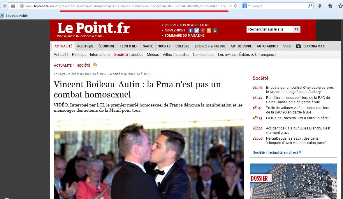 couple homosexuel accusation pédophilie