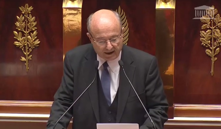 Assemblée Nationale Jacques Bompard demande pardon pour les victimes de l'avortement