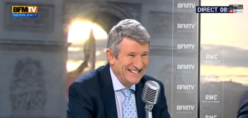 Philippe de Villiers Bourdin direct BFM TV
