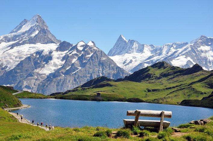 Montagnes-alpes-haute-provence france espoir
