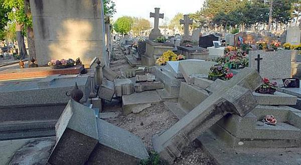 profanation cimetières