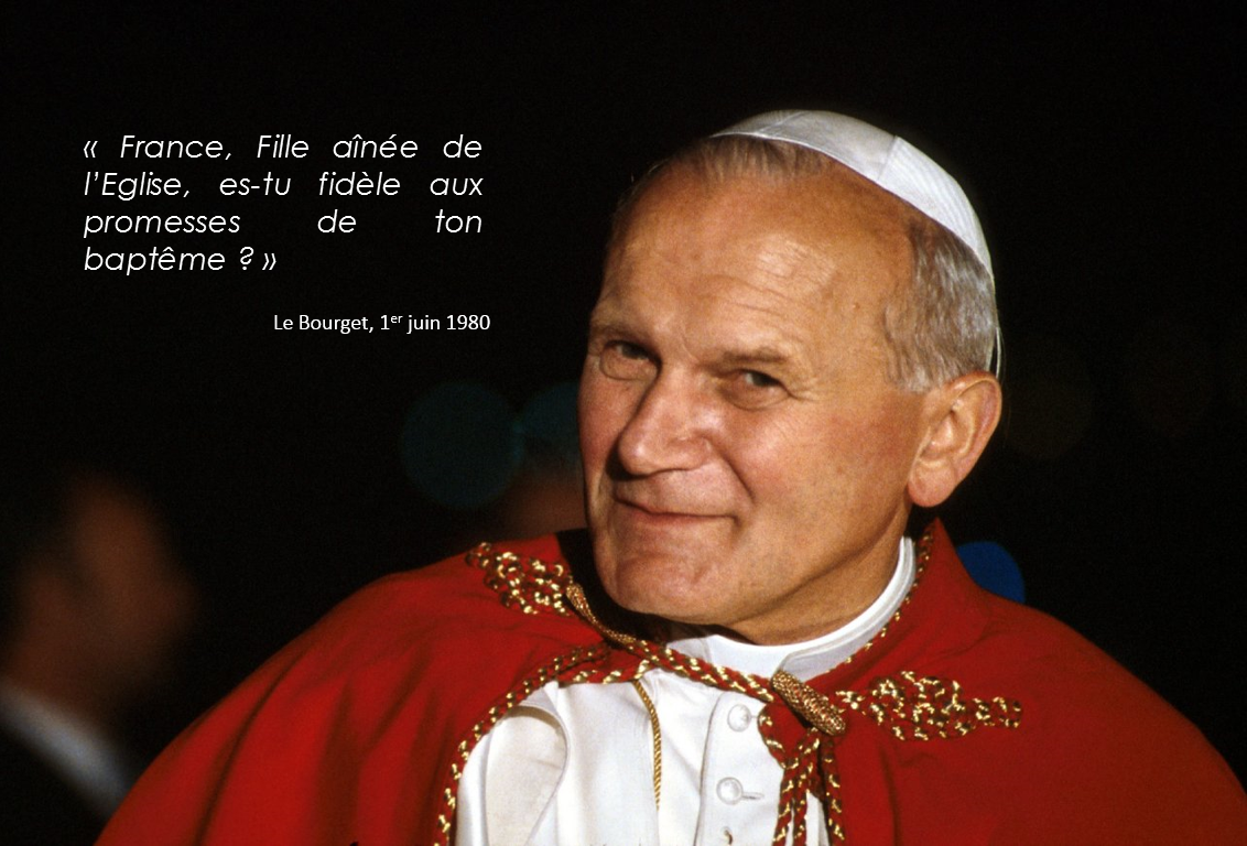jean paul ii france bourget 1980 bapteme