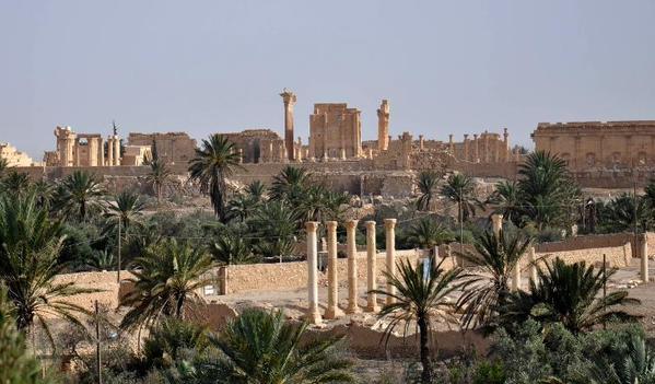 L Etat Islamique controle la totalite de la cite antique de Palmyre