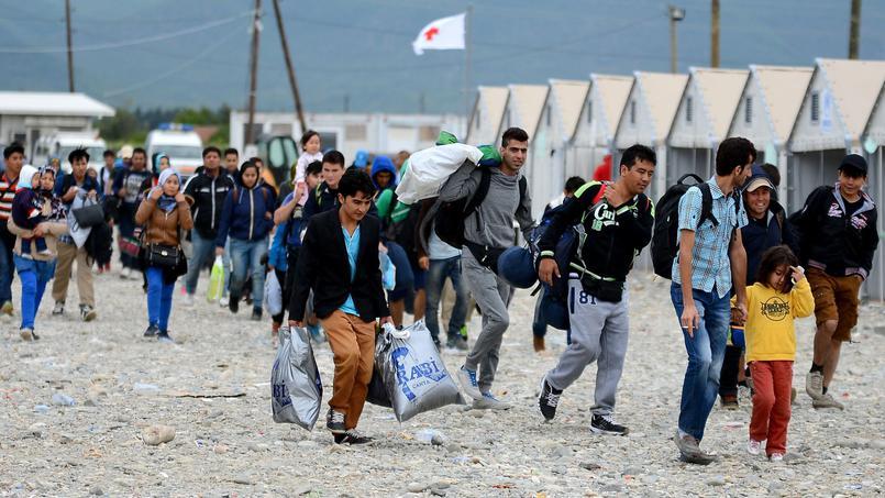 migrant camp des saint