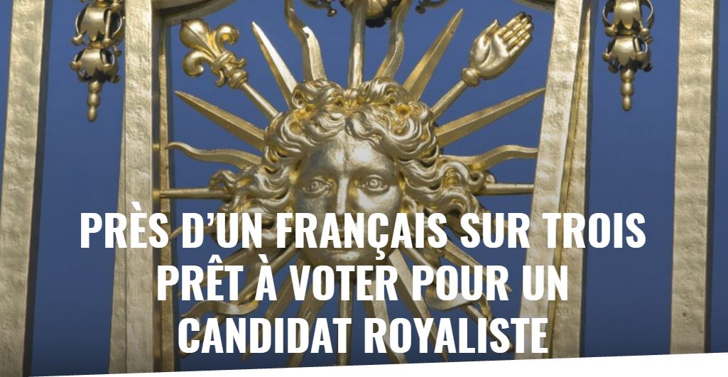 election presidentielle 2017 royaliste