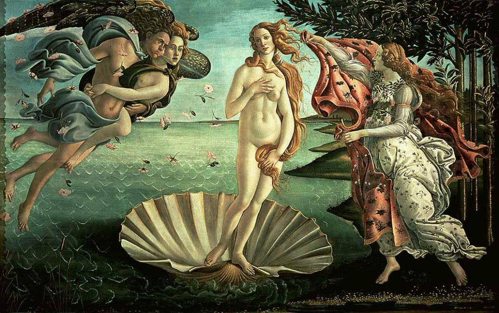 la naissance de venus botticelli